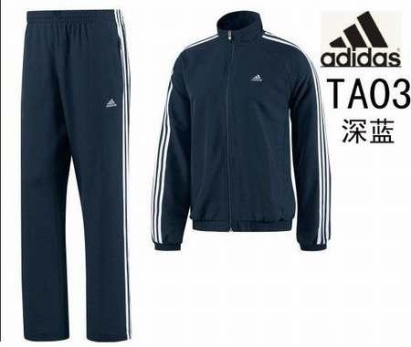 jogging adidas blanc homme