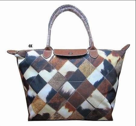 sac Longchamp 2.55 beige,sac cabas Longchamp bicolore,sac a main ...